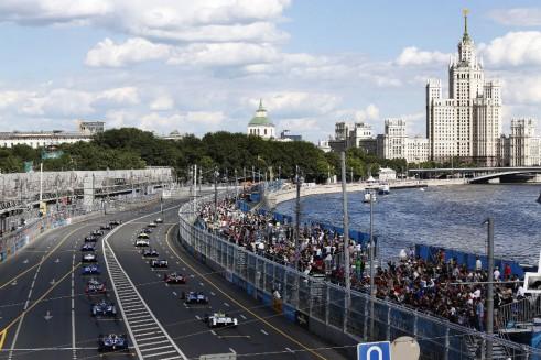 Formula E - Moscow - Start