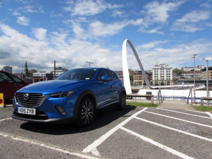 MazdaCX32015frontCarwitter - 2015 Mazda CX3 Review - Not just a bold looker - Mazda,CX3,2015,front,Carwitter