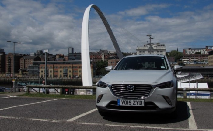 MazdaCX32015frontCarwitter2 e1434215816917 700x432 - 2015 Mazda CX3 Review - Not just a bold looker - 2015 Mazda CX3 Review - Not just a bold looker