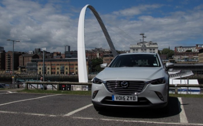 MazdaCX32015frontCarwitter2 e1434215816917 700x437 - 2015 Mazda CX3 Review - Not just a bold looker - 2015 Mazda CX3 Review - Not just a bold looker