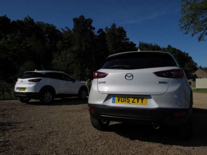 MazdaCX32015rearsCarwitter 700x525 - 2015 Mazda CX3 Review - Not just a bold looker - 2015 Mazda CX3 Review - Not just a bold looker