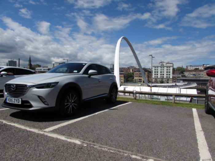 MazdaCX32015sidefrontCarwitter 700x525 - 2015 Mazda CX3 Review - Not just a bold looker - 2015 Mazda CX3 Review - Not just a bold looker