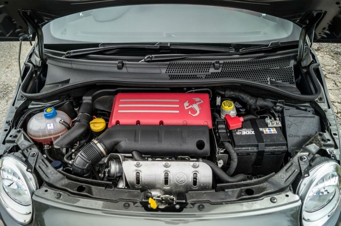 Fiat Abarth 500 595 Review - Engine Bay - carwitter