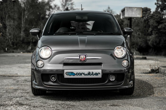 Fiat Abarth 500 595 Review - Front - carwitter
