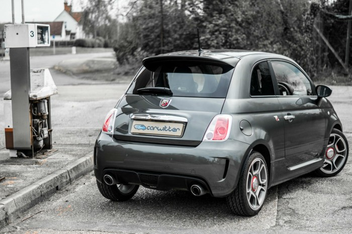 Fiat Abarth 500 595 Review - Rear Angle - carwitter