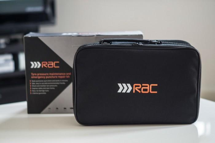 RAC Tyre maintenance and puncture repair kit Review - Bag Box - carwitter