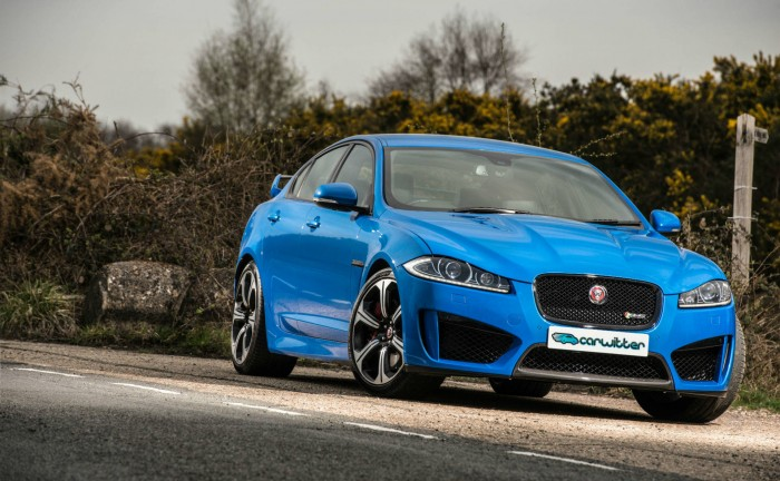 2014 Jaguar XFR S Review Front On Static carwitter 700x432 - Jaguar XF R-S Review – Super Saloon - Jaguar XF R-S Review – Super Saloon