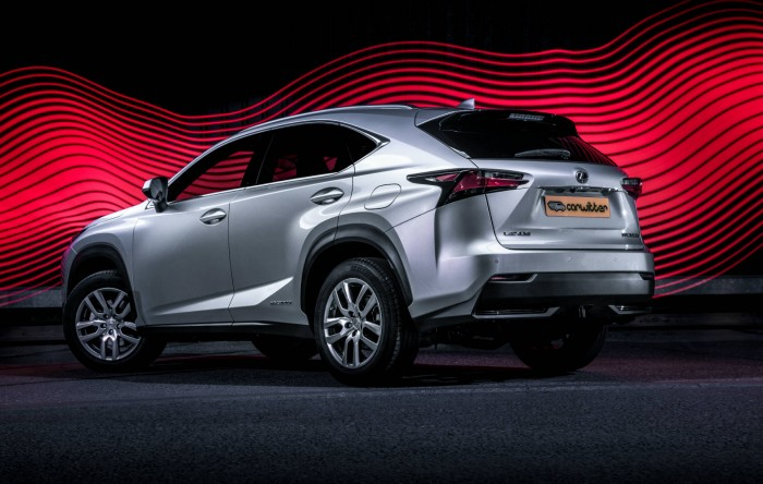 2015 Lexus NX 300h Review Rear Angle carwitter 700x444 - 2015 Lexus NX 300h Review – Futuristic luxury - 2015 Lexus NX 300h Review – Futuristic luxury