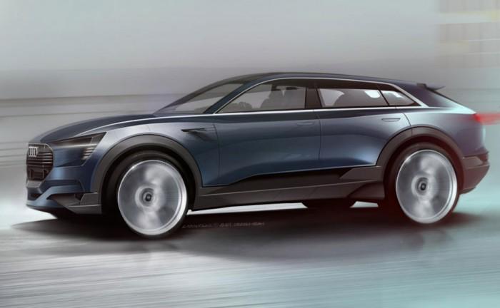 Audi E Tron Concept Sketch 700x432 - Audi E-Tron Quattro Concept Set For Frankfurt Reveal - Audi E-Tron Quattro Concept Set For Frankfurt Reveal