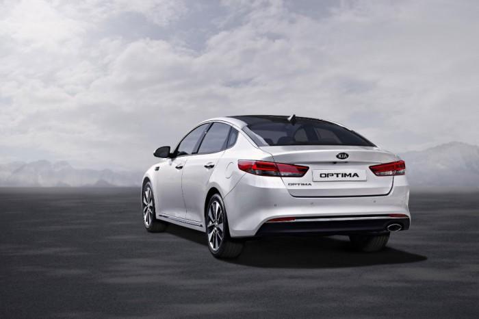 New Kia Optima - Exterior Rear