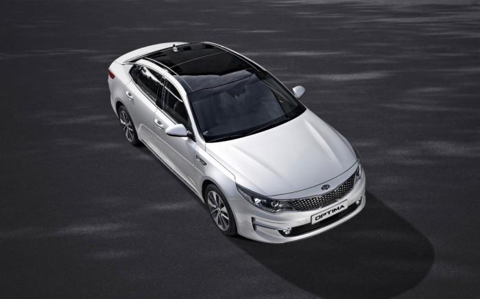 New Kia Optima - Exterior Upper