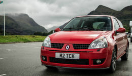 2005 RenaultSport Clio Trophy Front Angle carwitter 260x150 - A guide to selling a private number plate - A guide to selling a private number plate