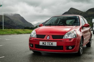 2005 RenaultSport Clio Trophy Front Angle carwitter 300x199 - A guide to selling a private number plate - A guide to selling a private number plate