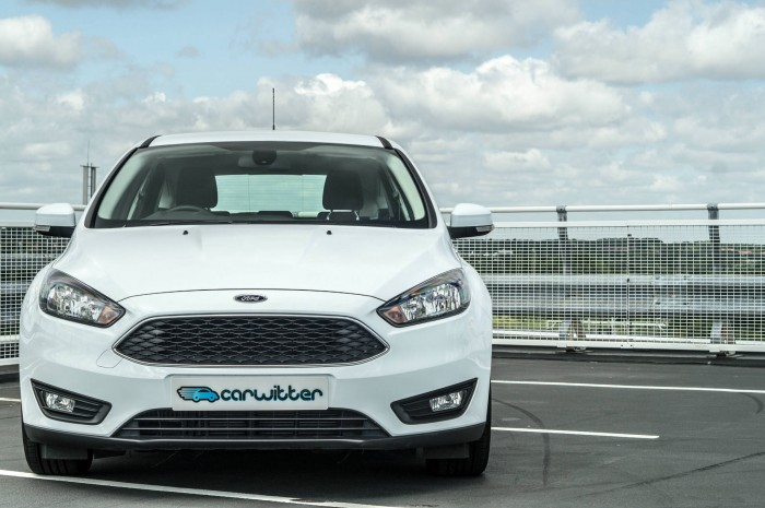 2015 Ford Focus 1 Litre EcoBoost Review - Front On - carwitter