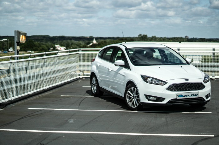 2015 Ford Focus 1 Litre EcoBoost Review - Front Scene - carwitter