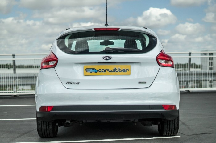 2015 Ford Focus 1 Litre EcoBoost Review - Rear - carwitter
