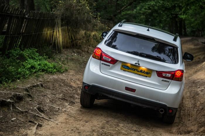 2015 Mitsubishi ASX 4WD - Rear Angle - carwitter