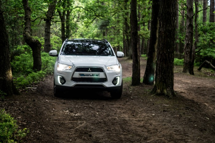 2015 Mitsubishi ASX 4WD - Review - Front Scene - carwitter