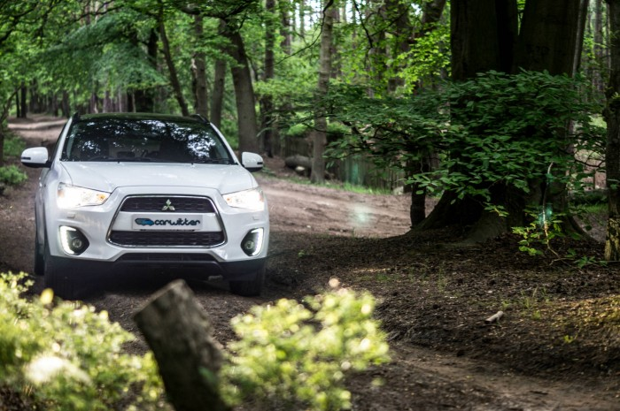 2015 Mitsubishi ASX 4WD - Review - Front Woods Scene - carwitter