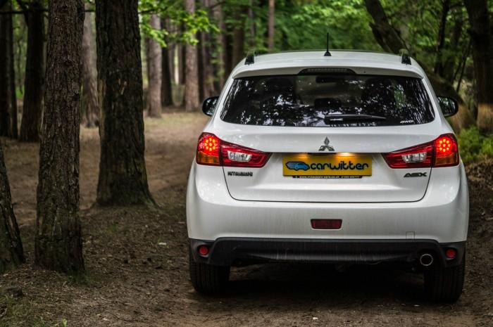 2015 Mitsubishi ASX 4WD - Review - Rear Close - carwitter