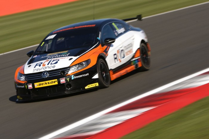 BTCC 2015 Silverstone Turkington