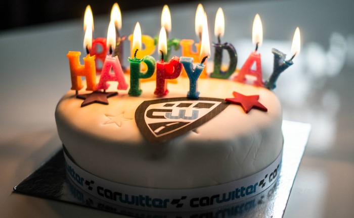 Cawitter Birthday Cake 3rd 2015 carwitter 700x432 - Happy 3rd Birthday To...Us! - Happy 3rd Birthday To...Us!