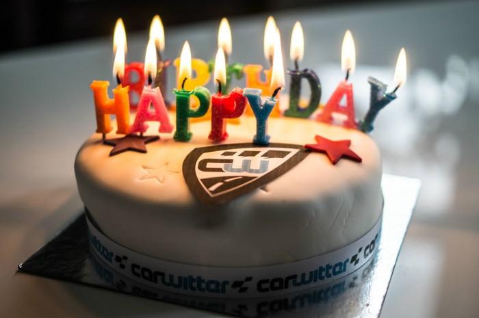Cawitter Birthday Cake 3rd 2015 - carwitter