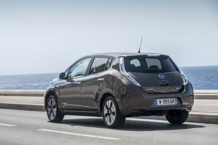Nissan Leaf 2016 Exterior Rear