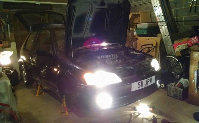 Peugeot 106 GTI Garage carwitter 700x432 - PROJECT 106 GTI - Making it look prettier - PROJECT 106 GTI - Making it look prettier