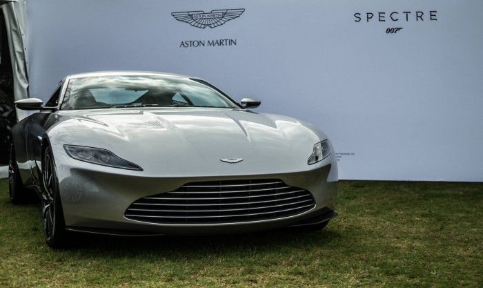 Salon Prive 2015 Review - Aston Martin DB10 James Bond - carwitter