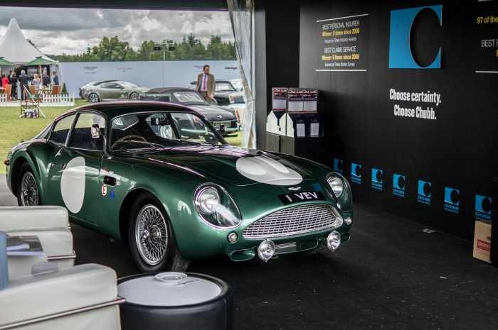 Salon Prive 2015 Review Aston Martin DB5 Race Car carwitter 700x465 - Salon Privé 2015 - New location, better than ever - Salon Privé 2015 - New location, better than ever