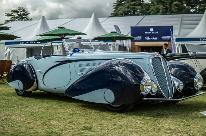 Salon Prive 2015 Review Delahaye Side carwitter 700x465 - Salon Privé 2015 - New location, better than ever - Salon Privé 2015 - New location, better than ever