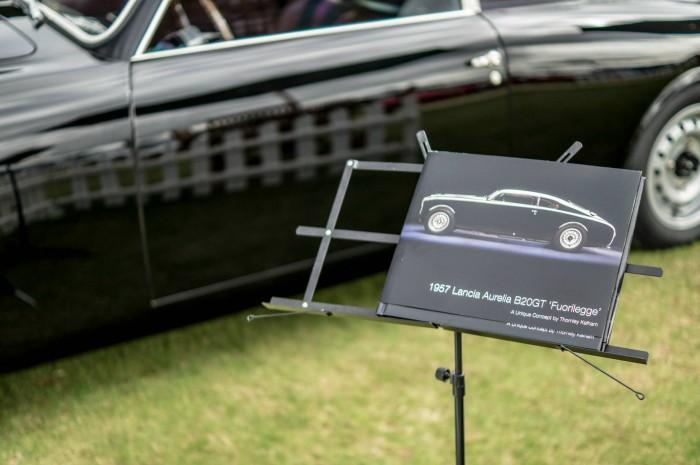 Salon Prive 2015 Review - Lancia Aurella B20GT Fuorilegge Book - carwitter