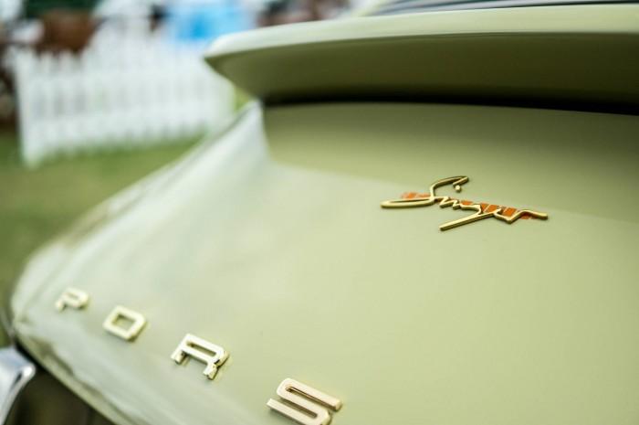 Salon Prive 2015 Review - Singer Porsche Badge - carwitter