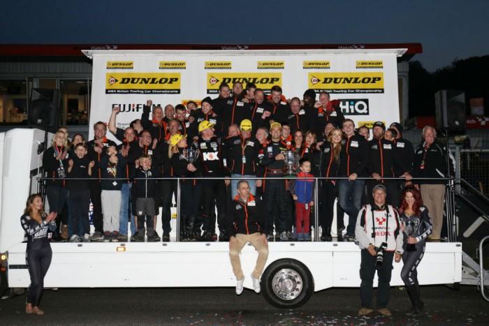 BTCC 15 BHatch GP BMR Team