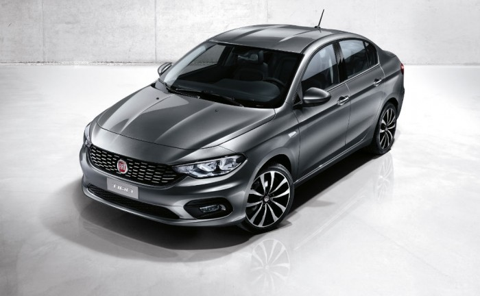 Fiat Tipo Official Image 700x432 - Fiat to make C-Segment comeback with the Tipo - Fiat to make C-Segment comeback with the Tipo