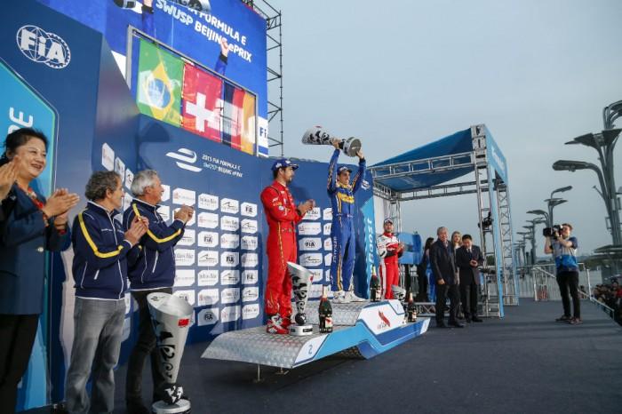 Formula E - Beijing 2015 - Podium