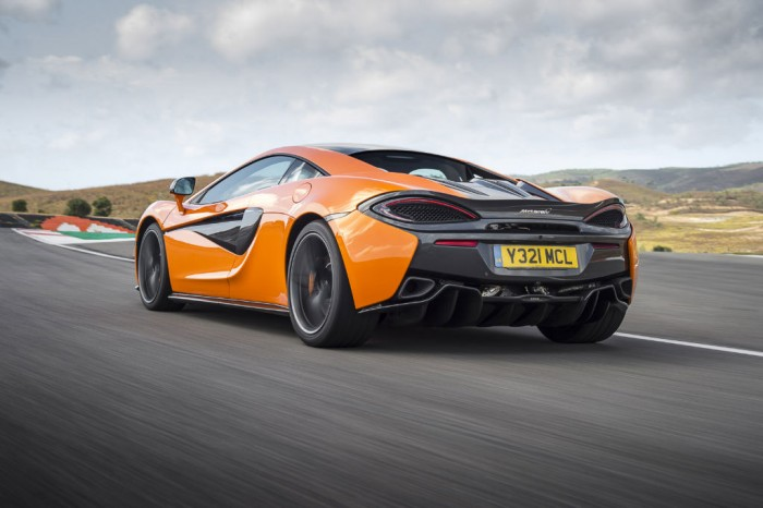 McLaren 570S -Rear Motion
