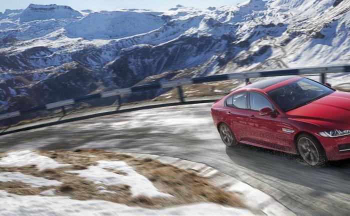 2017 Jaguar XE AWD Snow Mountain carwitter 700x432 - Jaguar XE to get all wheel drive - Jaguar XE to get all wheel drive