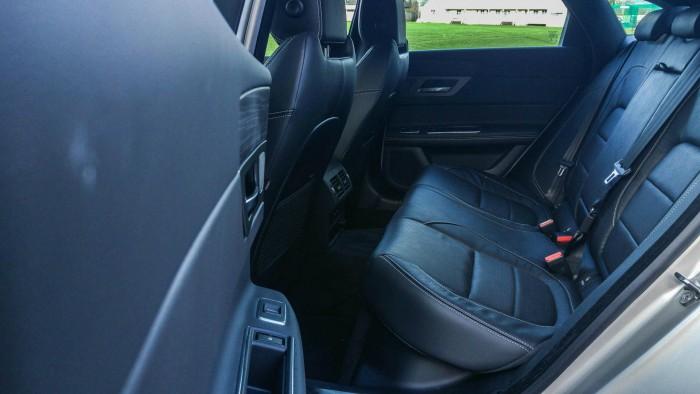 2016 Jaguar XF Review - Rear Seats - carwitter