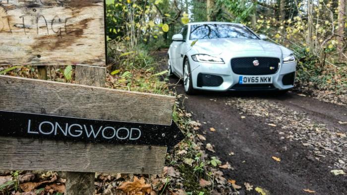 2016 Jaguar XF S Review - Front Scene 2 - carwitter
