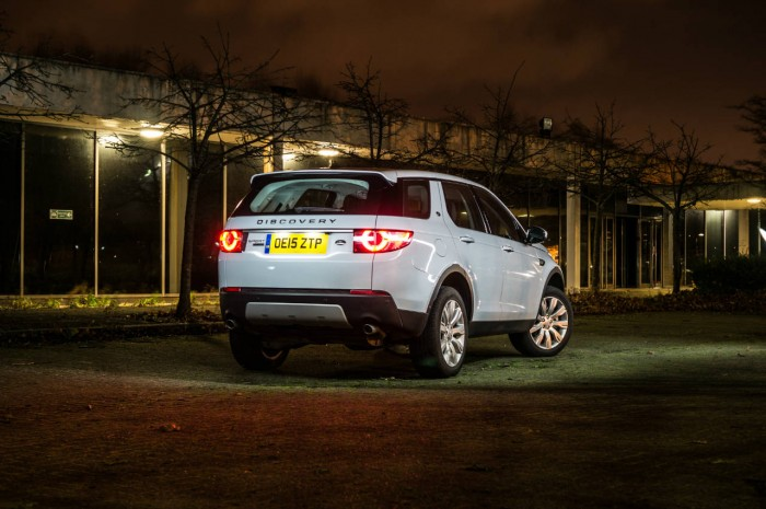 Land Rover Discovery Sport Review - Rear Angle - carwitter