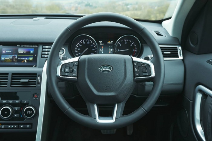 Land Rover Discovery Sport Review - Steering Wheel - carwitter