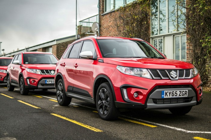Suzuki Vitara S On Track - Croft Lineup Close - carwitter