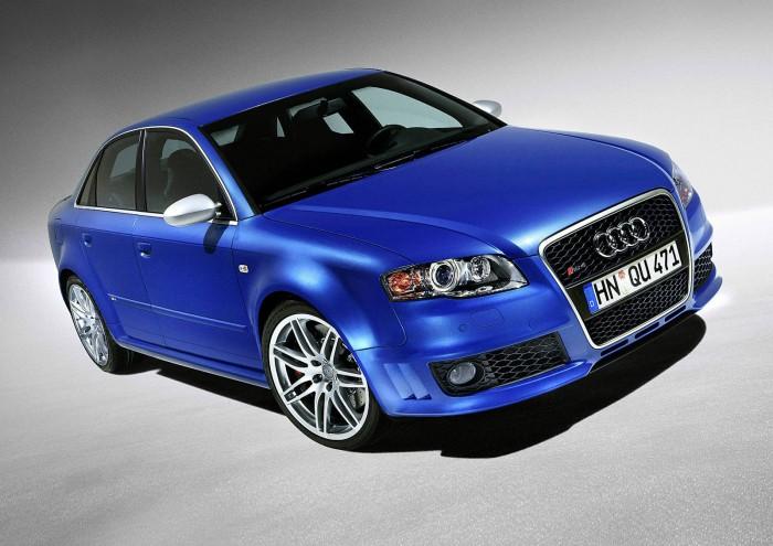2007 Audi RS4 Quattro - carwitter