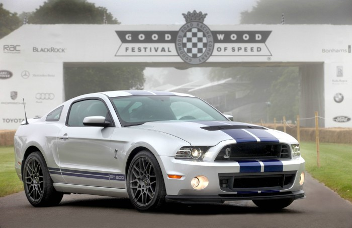 2012 Ford Shelby GT500 Mustang - carwitter
