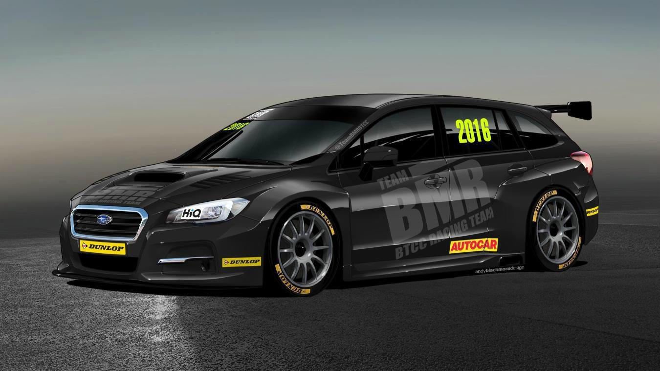 2016 Subaru Levorg BTCC Race Car Team BMR Carwitter - Subaru enter the BTCC - Subaru enter the BTCC