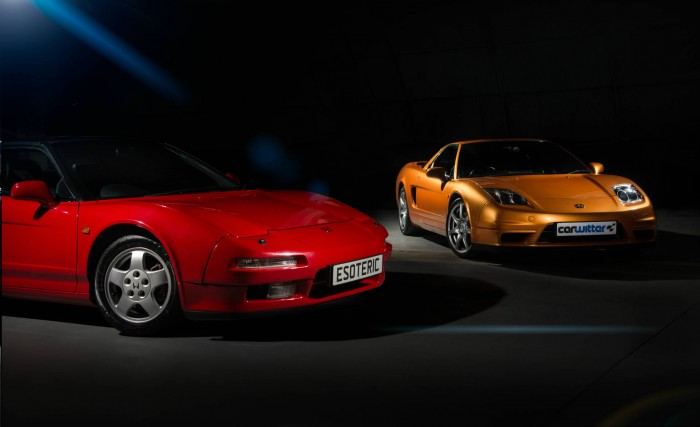 2005 Honda NSX - Imola Orange - 1991 Honda NSX Formula Red - Dark Shoot - carwitter
