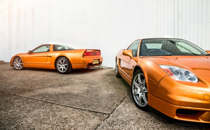 2005 Honda NSX - Imola Orange - Back To Back - carwitter