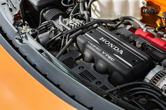2005 Honda NSX - Imola Orange - Engine - carwitter